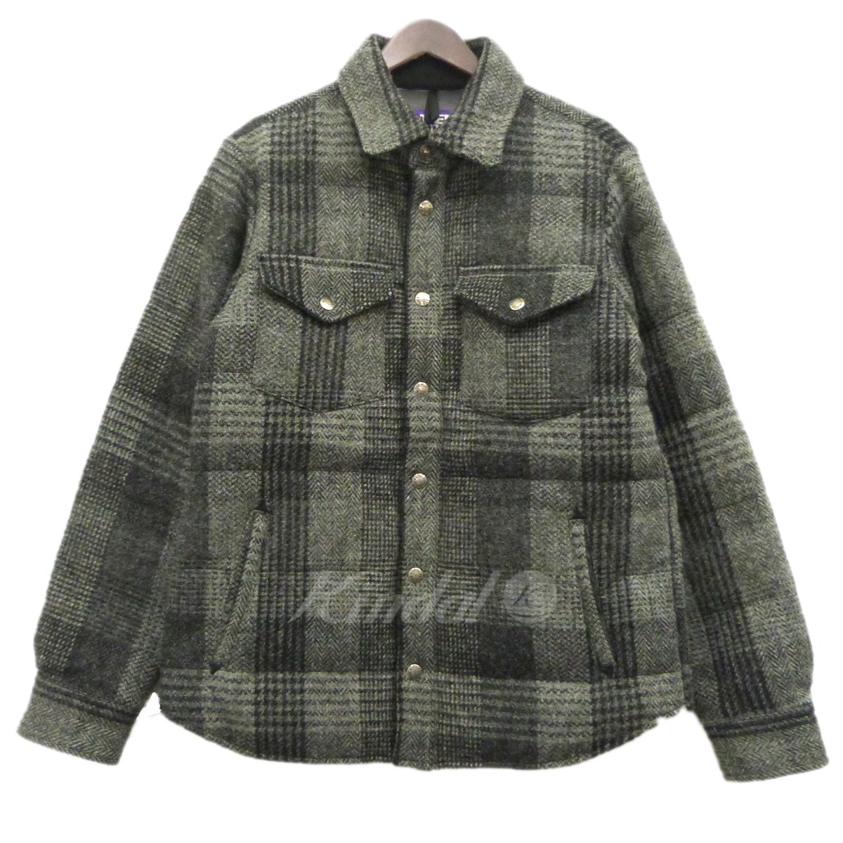 Kindal: THE NORTH FACE PURPLE LABEL Harris Tweed Check