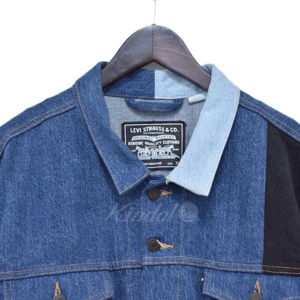 levis patch denim jacket