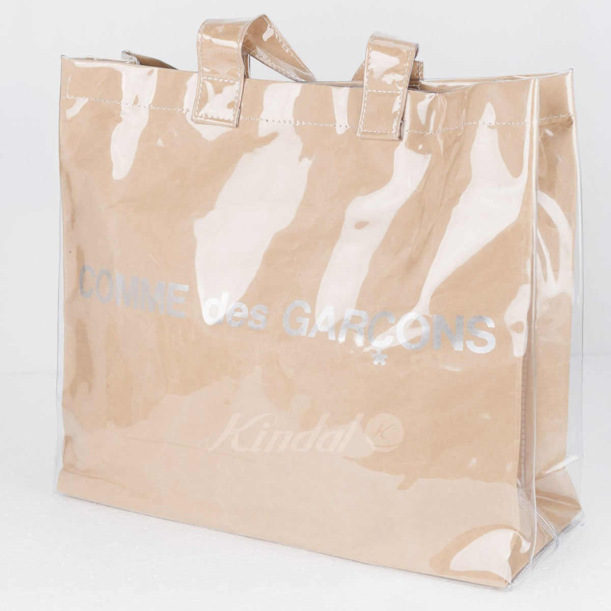 【中古】COMME des GARCONS PVCトートバッグ 【送料無料】 【023078】 【KIND1551】