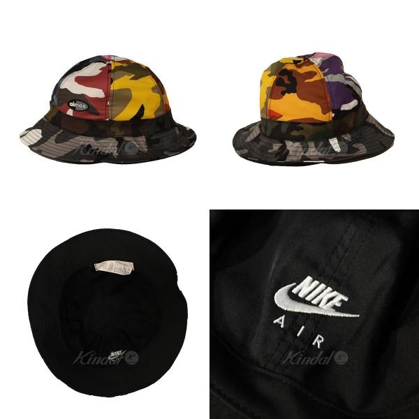 NIKE 2018SS NIKE ERDL PARTY BUCKET HAT AIR MAX pail hat black X Chisa Malle  is  - (Nike) 9b63911b615