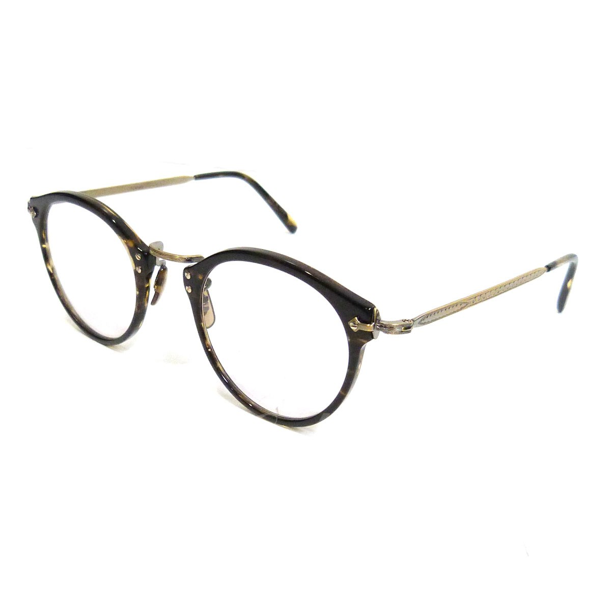 【中古】OLIVER PEOPLES 「505 SUN COCO/2 AG LTD 雅」 眼鏡 【送料無料】 【055330】 【KIND1551】