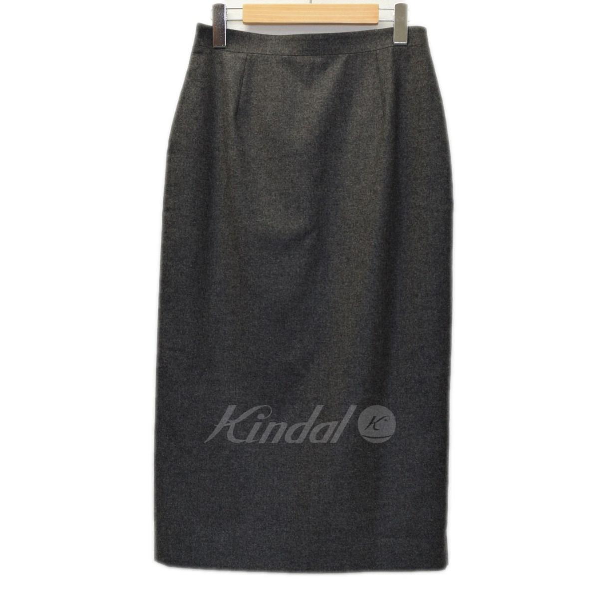 【中古】CELINE カシミヤ混スカート 【送料無料】 【010056】 【KIND1551】