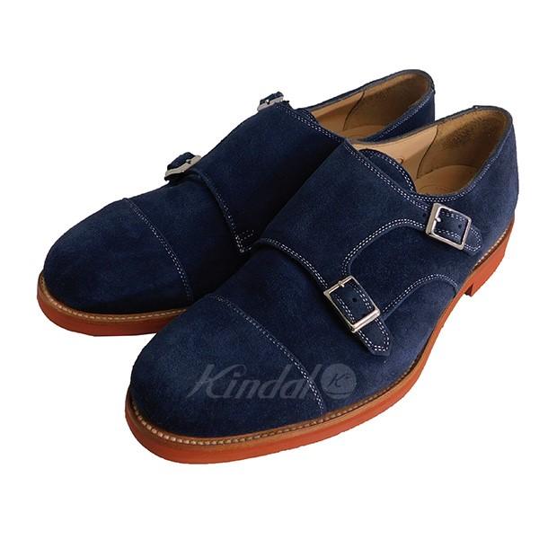 【中古】KENNETH FIELD Double monk strap shoes ダブルモンクストラップシューズ 【送料無料】 【004787】 【KIND1551】