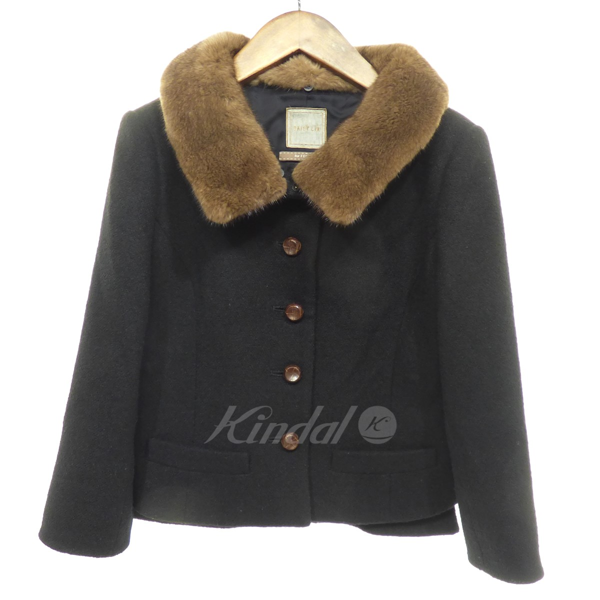 【中古】DAISY LIN for FOXEY JACKET VINTAGE CHIC 【送料無料】 【150907】 【KIND1551】
