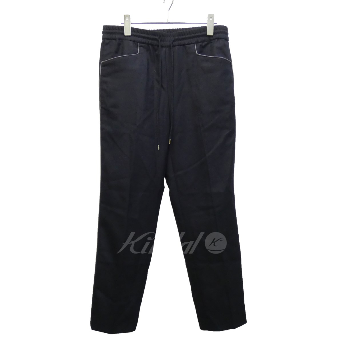 【中古】JOHN LAWRENCE SULLIVAN 18AW 「WOOL TAPERD PANTS」ウールテーパードパンツ 【送料無料】 【106217】 【KIND1551】