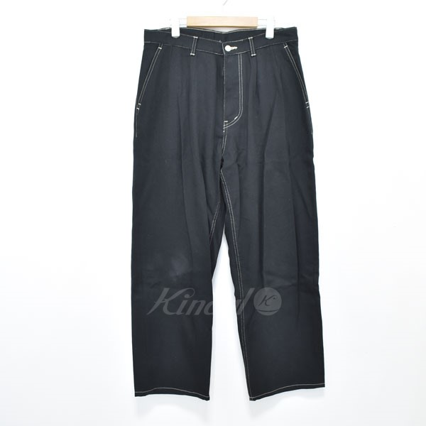 【中古】GRAPHPAPER Nonfade Denim Two Tuck Pant パンツ 【送料無料】 【300059】 【KIND1551】
