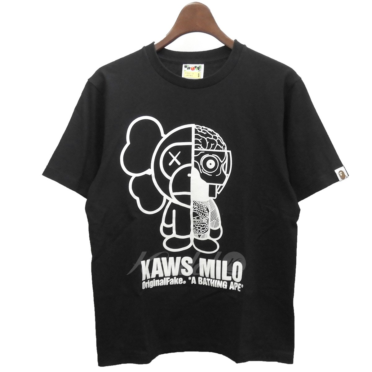 【中古】A BATHING APE×Original Fake KAWS MILO Tシャツ 【送料無料】 【167467】 【KIND1551】