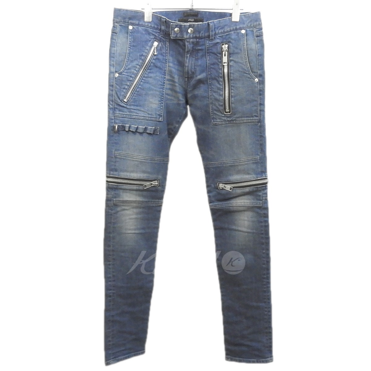 【中古】99%is 「Denim Zip Work Pant」バイカーデニムパンツ 【送料無料】 【167535】 【KIND1551】