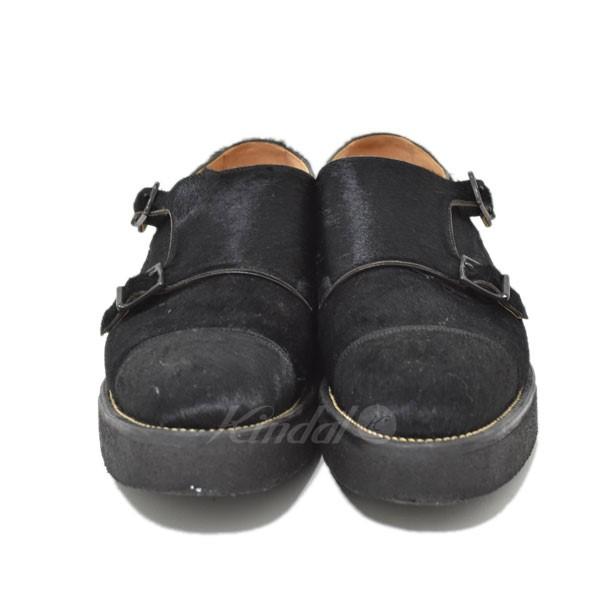 【中古】foot the coacher モンクストラップシューズ 【送料無料】 【299285】 【KIND1551】