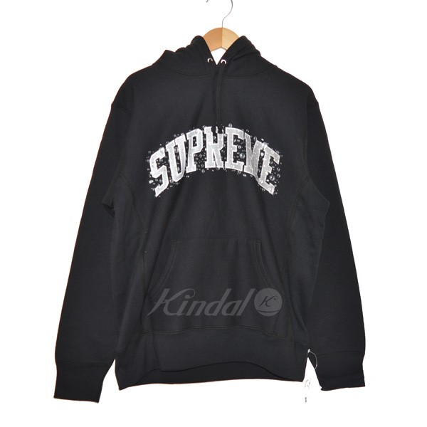 【中古】SUPREME 18AW Water Arc Hooded Sweatshirt プルオーバーパーカー 【送料無料】 【148375】 【KIND1551】