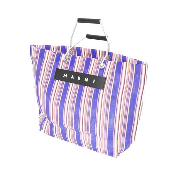 【中古】MARNI フラワーカフェバッグ トートバッグ 鞄 【送料無料】 【008118】 【KIND1551】