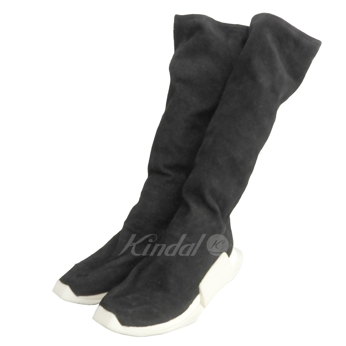 【中古】adidas by Rick Owens 17AW 「RO LEVEL RUNNER BOOT」 【送料無料】 【167849】 【KIND1551】