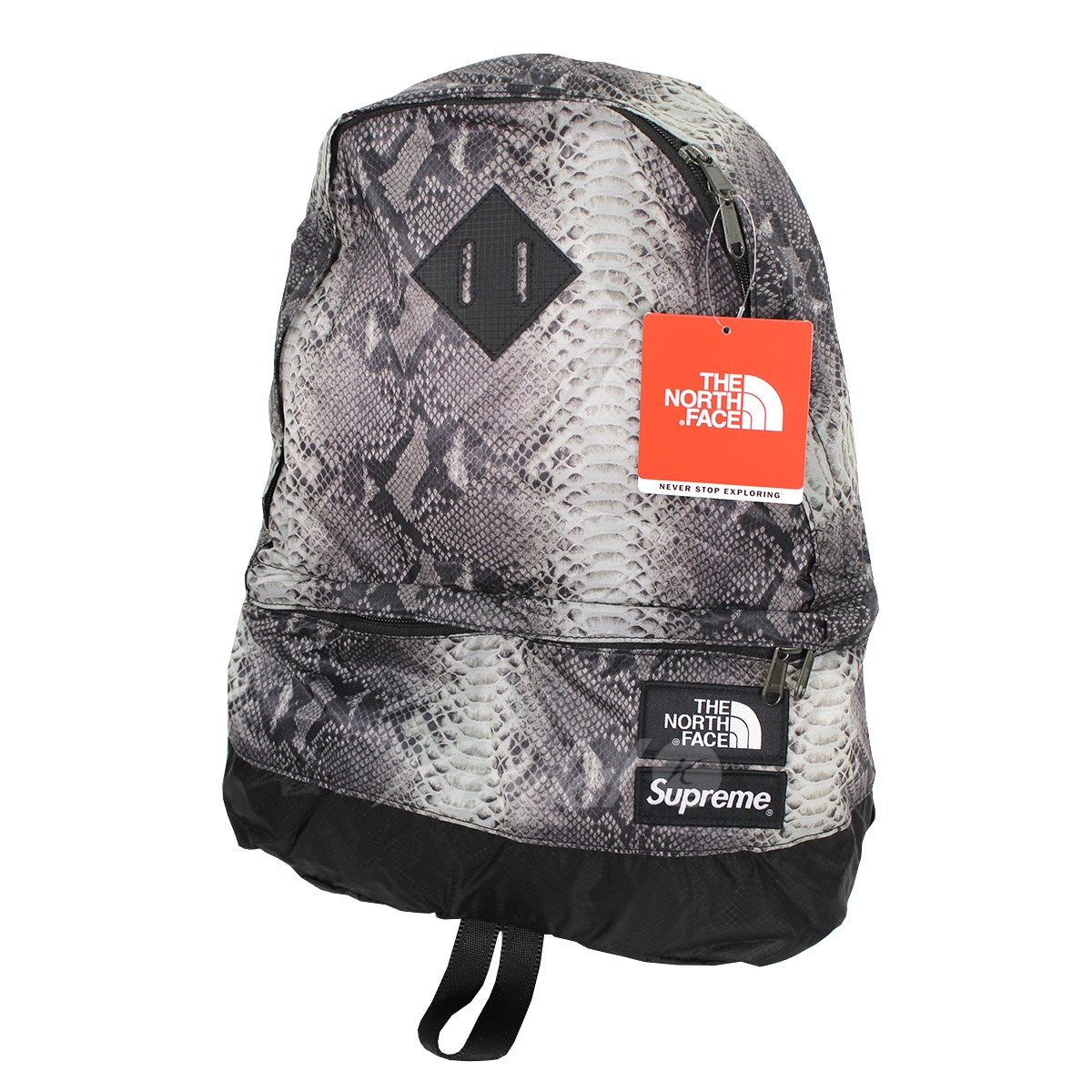【中古】Supreme × THE NORTH FACE 18SS Snake Lightweight Daypack スネークバックパック 【送料無料】 【011104】 【KIND1551】