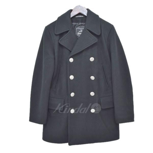 【中古】GLOVER ALL ウールPコート ブラック サイズ:S 【送料無料】 【040119】(グローバーオール)