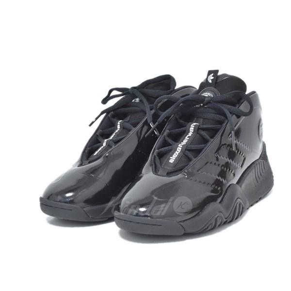 【中古】adidas Originals×Alexander Wang EE9027 FUTURESHELL スニーカー ブラック サイズ:27.5cm 【送料無料】 【040119】(アディダス アレキサンダーワン)