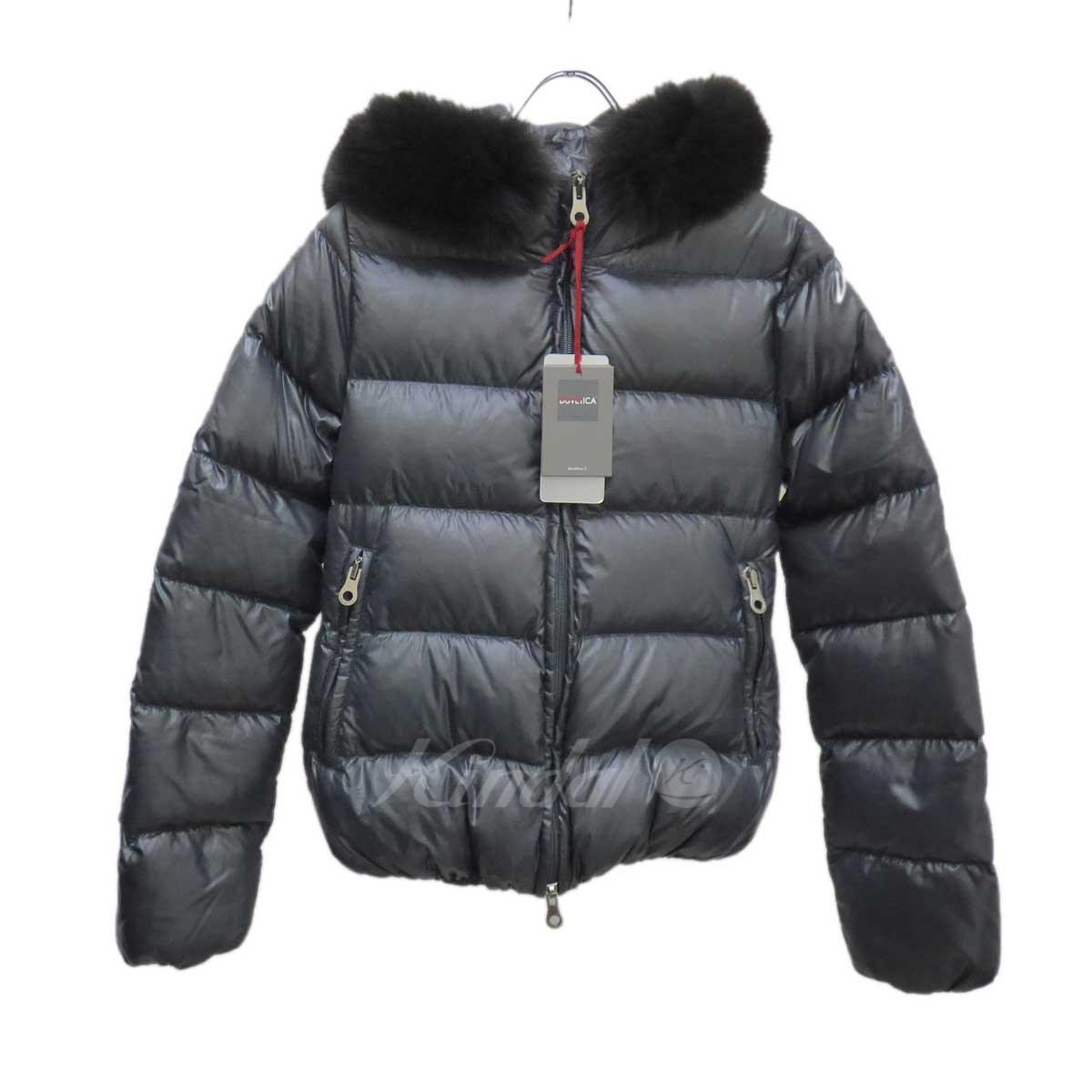 【中古】DUVETICA ダウンジャケット ADHARA グレー サイズ:40 【送料無料】 【040119】(デュベティカ)