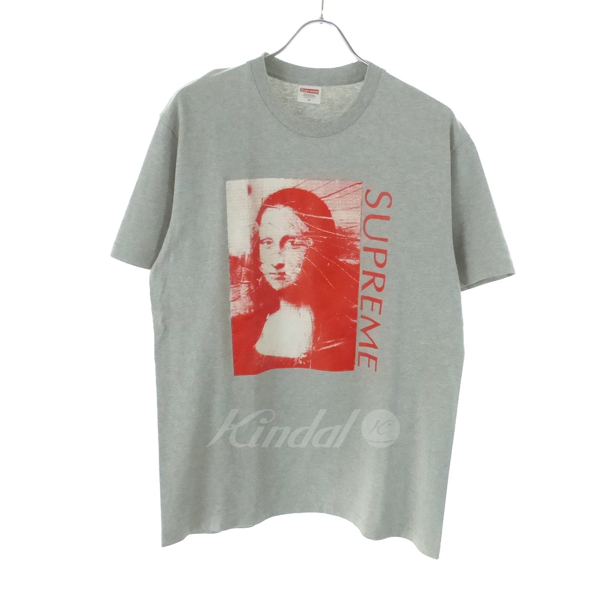 【中古】SUPREME Mona Lisa Tee 18SS グレー サイズ:M 【送料無料】 【040119】(シュプリーム)