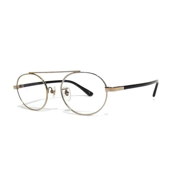 【中古】Buddy optical 「emory」ワンブリッジ眼鏡 ゴールド 【送料無料】 【040119】(バディー オプティカル)