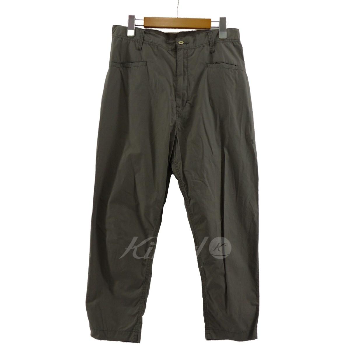 【中古】Porter Classic TRAVEL PANTS トラベルパンツ ライトグレー サイズ:M 【送料無料】 【040119】(ポータークラシック)