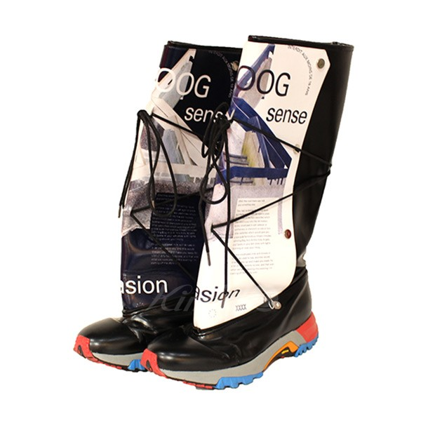 【中古】XANDER ZHOU 2017AW ABSTRACTIVE DESIGN BOOTS ブーツ 【送料無料】 【000759】 【KIND1641】