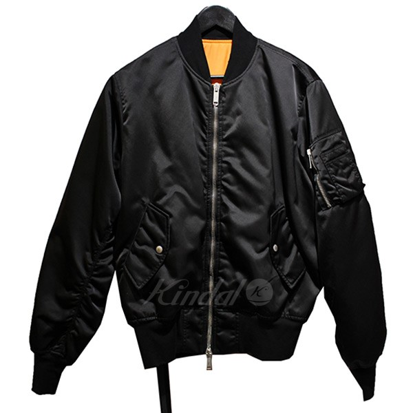 【中古】BEN TAVERNITI UNRAVEL PROJECT Classic Bomber Jacket クラシックボンバージャケット MA-1 【送料無料】 【010890】 【KIND1641】