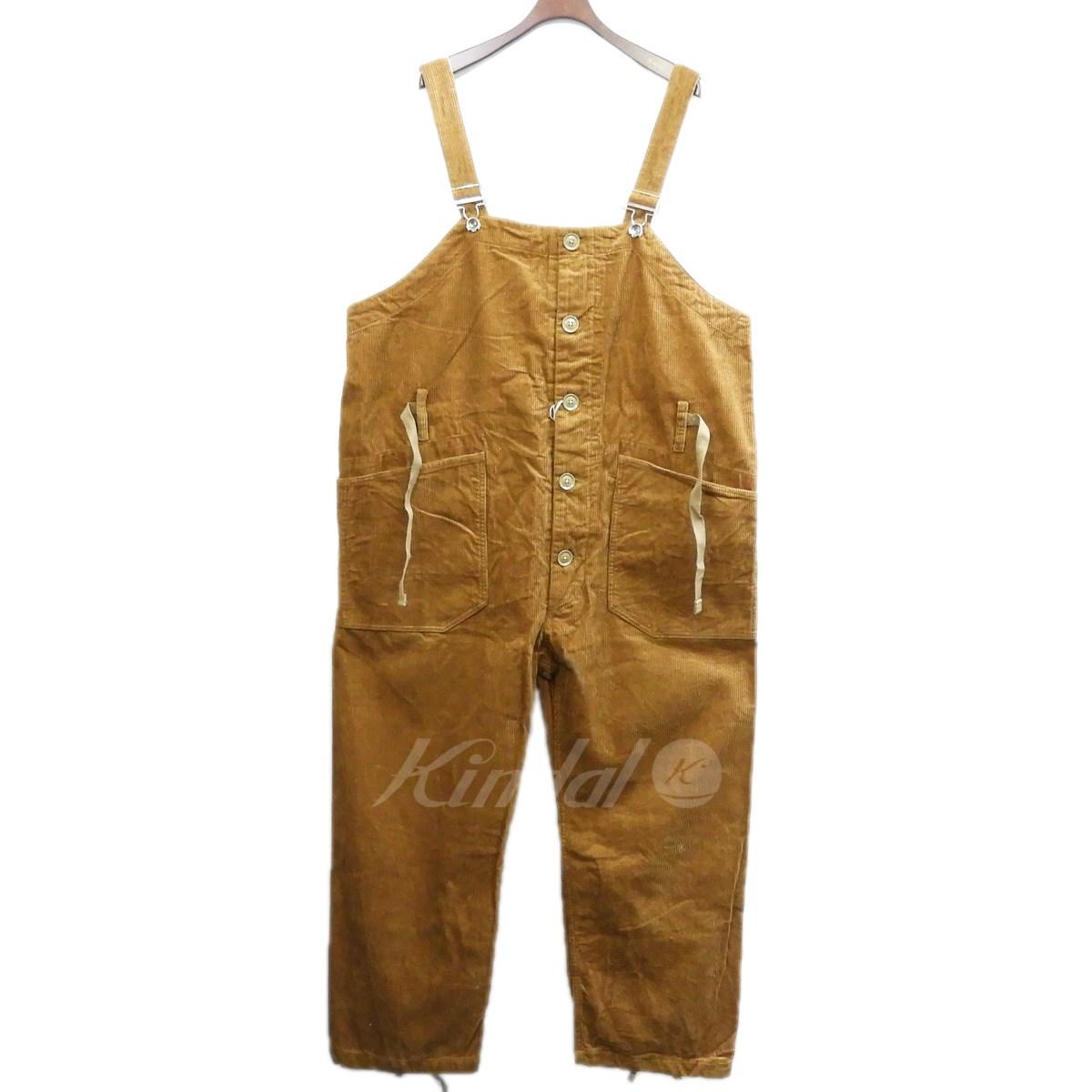 【中古】Engineered Garments 2018AW 「OVERALLS」コーデュロイオーバーオール 【送料無料】 【173994】 【KIND1641】
