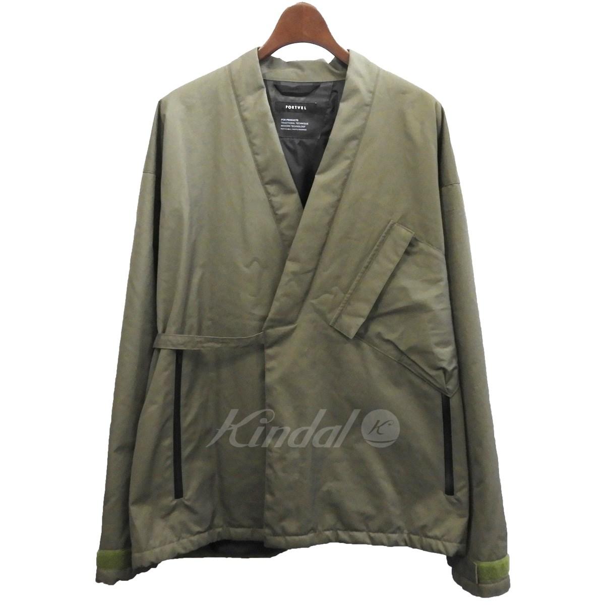 【中古】PORTVEL ベンタイル作務衣ジャケット 【送料無料】 【174410】 【KIND1641】