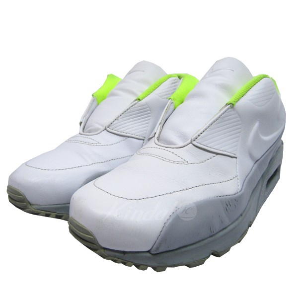 online store 727a3 6d1bb NIKE LAB X SACAI 15SS WMS AIR MAX 90 SP higher frequency elimination  sneakers white X neon yellow size  23. 5cm (Nike laboratory Sakai)