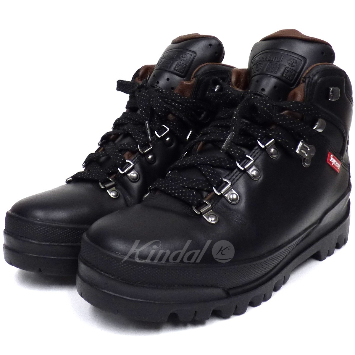 【中古】SUPREME×TIMBERLAND 18AW World Hiker Front Country Bootカントリーブーツ 【送料無料】 【006469】 【KIND1641】