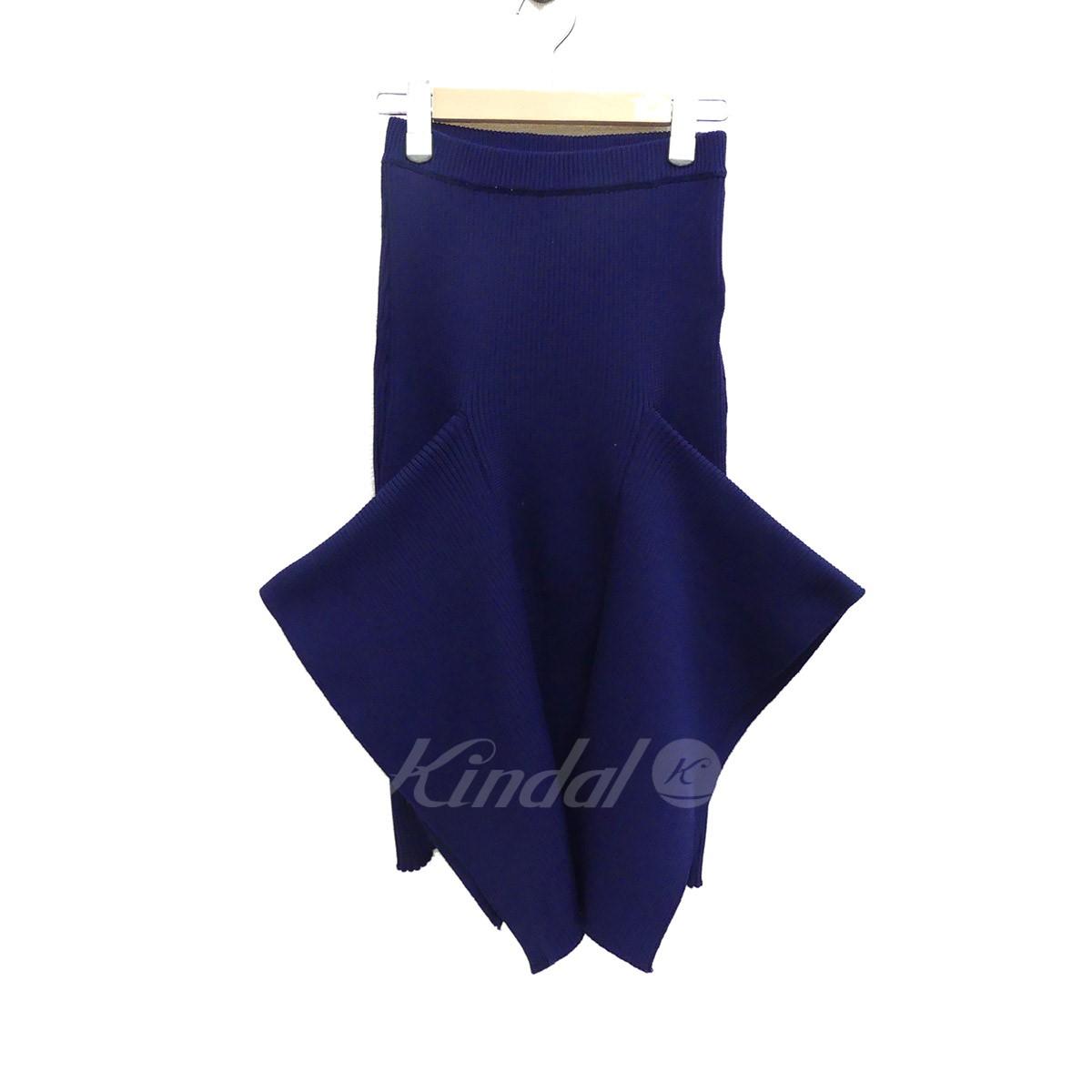 【中古】AKIRA NAKA ニットスカート drape skirt 【193921】 【KIND1703】
