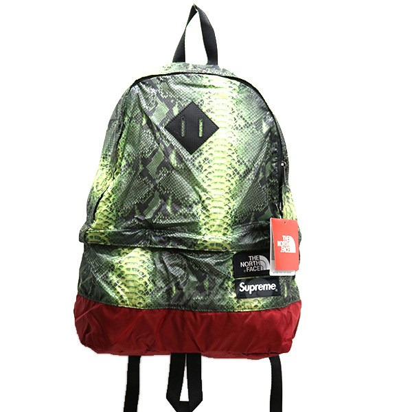 【中古】SUPREME×THE NORTH FACE 18SS Snakeskin Lightweight Day Pack  バックパック 【送料無料】 【011632】 【KIND1641】
