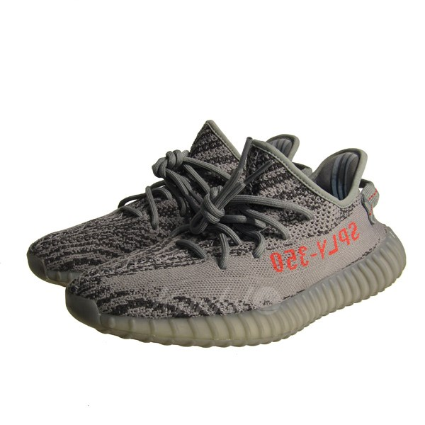 best sneakers d31d2 c8506 adidas originals by Kanye West 17AW Yeezy Boost 350 V2 easy boost Beluga 2.  0 sneakers gray size: 26cm (Adidas originals by Kanie waist)