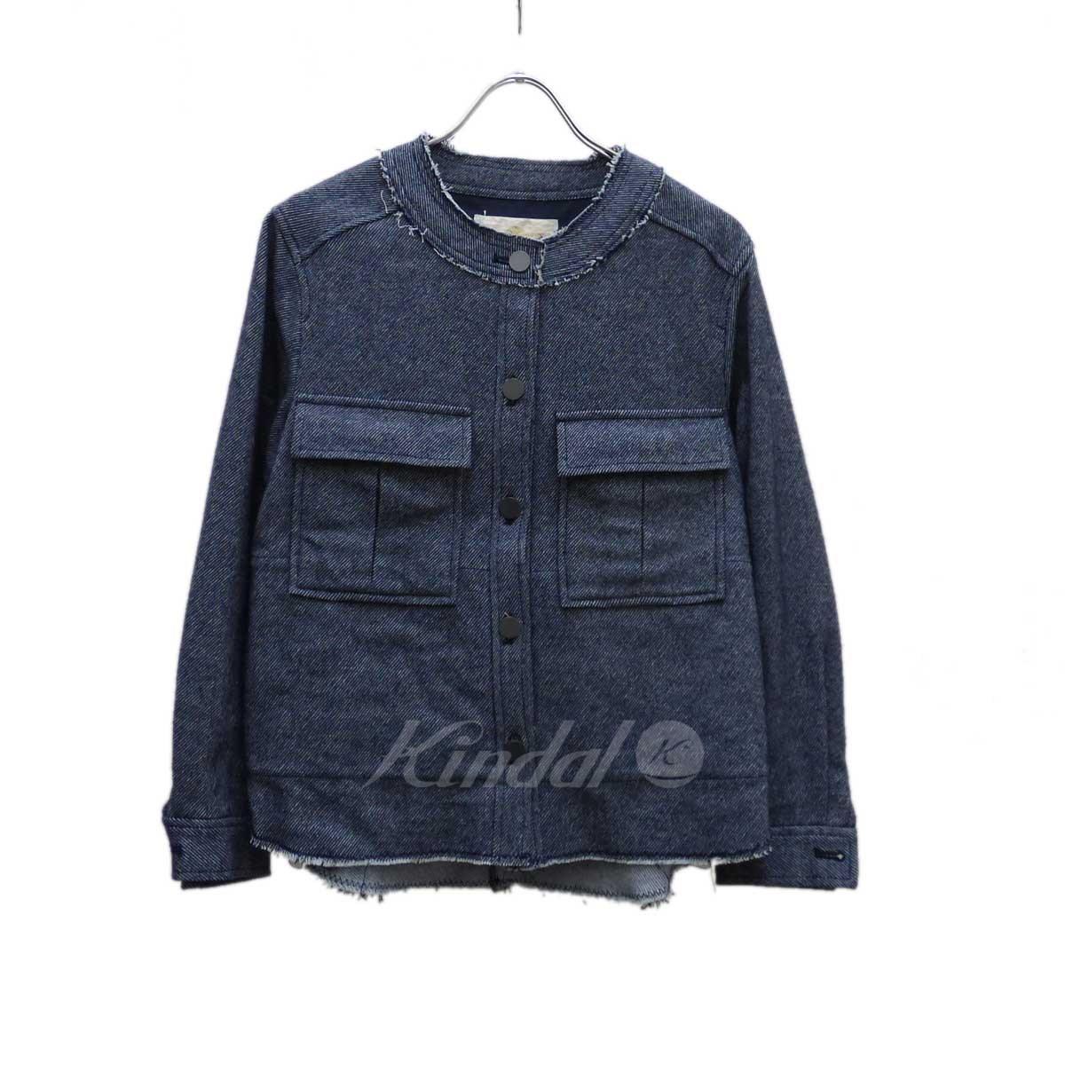 【中古】GRACE class C/W デニムシャツジャケット インディゴ サイズ:36 【送料無料】 【290119】(グレースクラス)