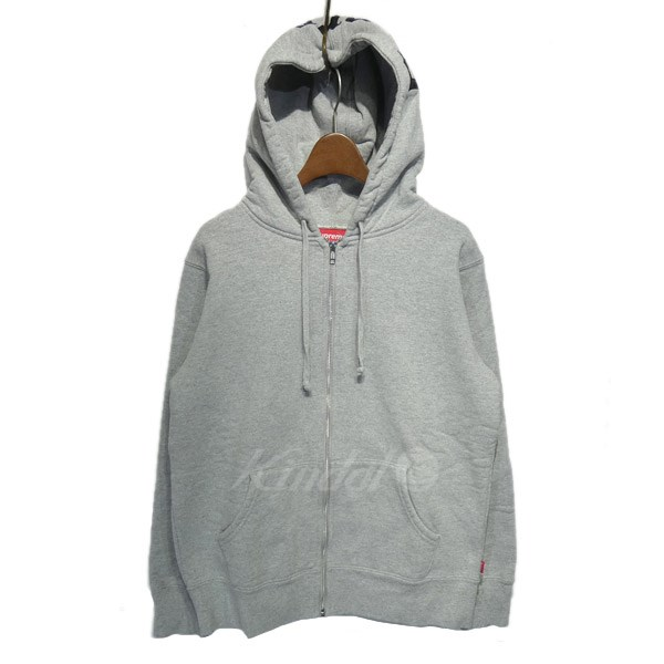 【中古】SUPREME 2016AW 「Old English Hooded Zip Up Sweat」フード刺繍パーカー 【送料無料】 【135781】 【KIND1641】