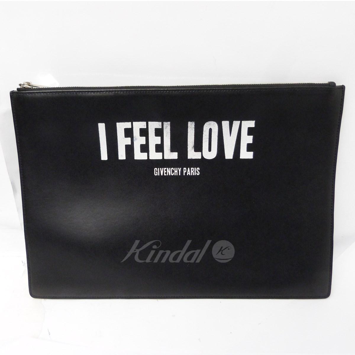 【中古】GIVENCHY 16SS「I FEEL LOVEクラッチバッグ」 【送料無料】 【162409】 【KIND1641】