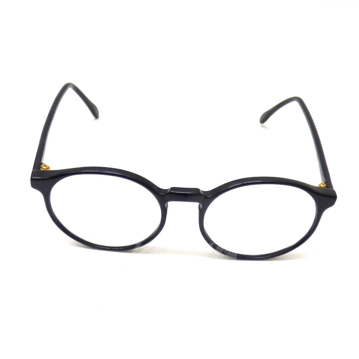 【中古】CUTLER AND GROSS Mod 0362 プラスティック眼鏡 ブラック 【送料無料】 【010219】(カトラーアンドグロス)