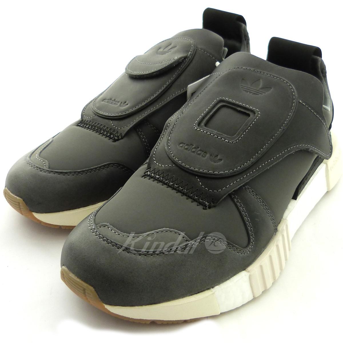 【中古】adidas originals 「FUTUREPACER」スニーカー チャコールグレー サイズ:28cm 【送料無料】 【010219】(アディダスオリジナルス)