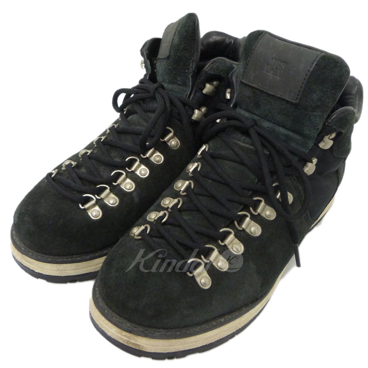 【中古】VISVIM 「SERRA」スウェードトレッキングブーツ ブラック サイズ:US9.5 【送料無料】 【010219】(ビズビム)