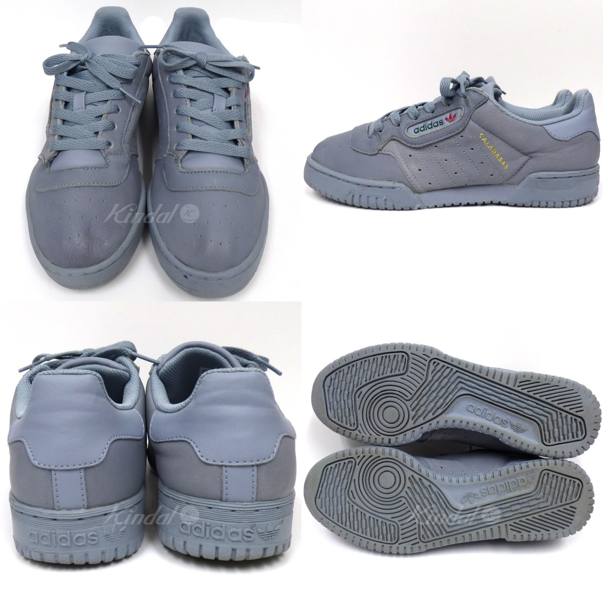 496dab6c ... adidas Originals by KANYE WEST YEEZY Powerphase easy power phase  sneakers gray blue size: US7 ...