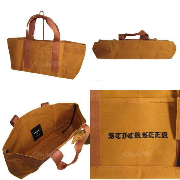 e54a9e1b310f Engineered Garments】stickseek CANVAS TOTE/キャンバストートバッグ ...