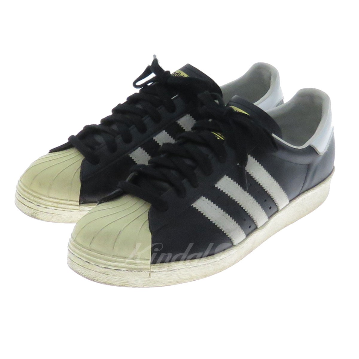huge selection of 0013c e7679 adidas SUPERSTAR 80S superstar sneakers G61069 black size: 28. 0cm (Adidas)