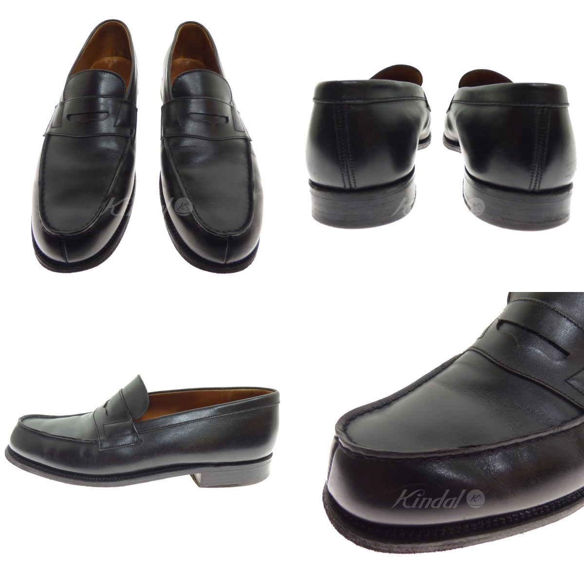b23955f8c51 kindal  J. M. WESTON 180 loafer black size  5 1 2 (Jay M Weston ...