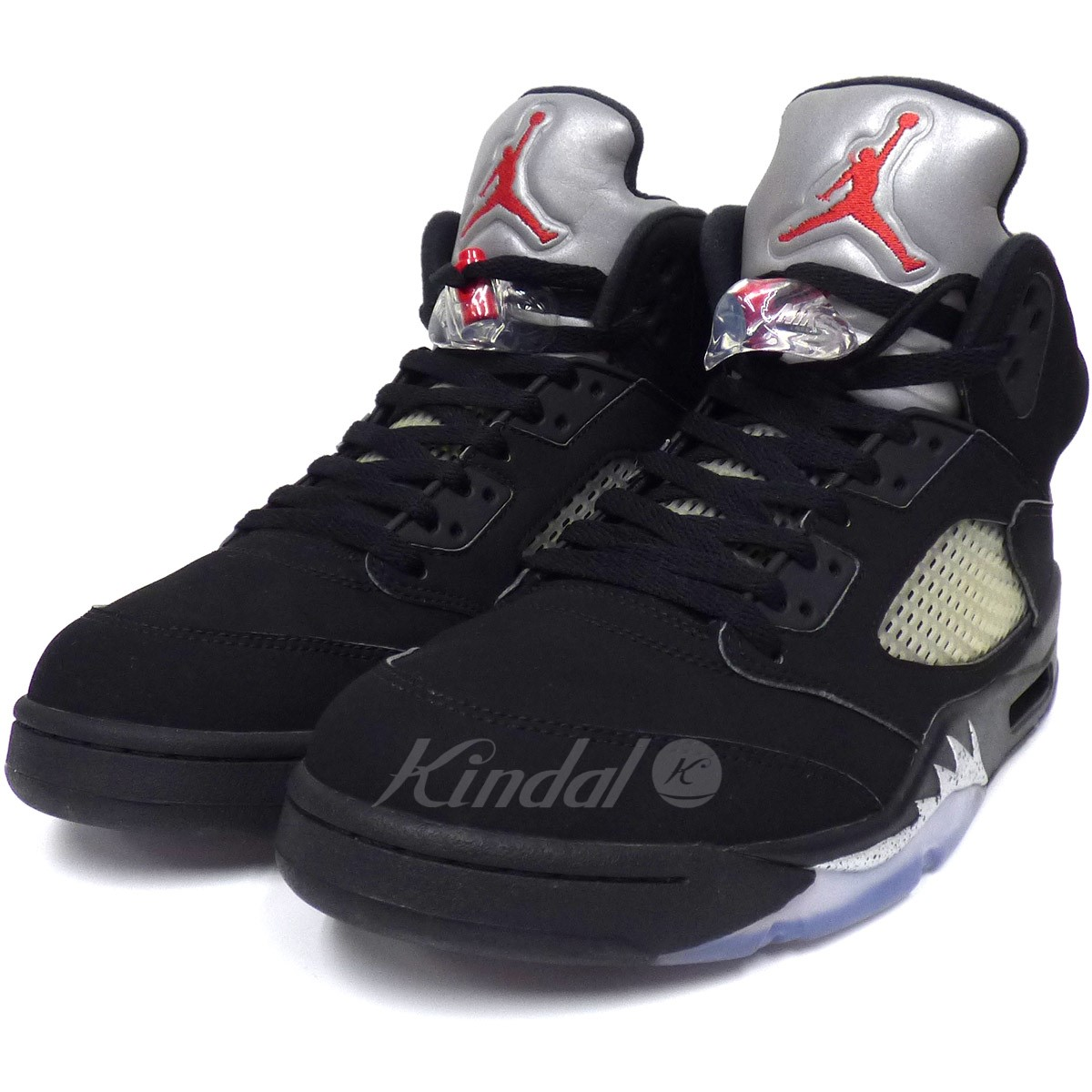 brand new 78217 7a20c NIKE Air Jordan 5 Retro OG Black Metallic Air Jordan sneakers black size:  US10. 5 (28.5cm) (Nike)