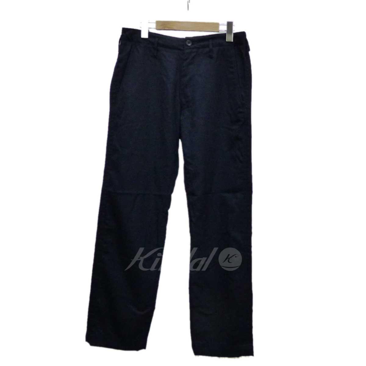 【中古】MOJITO ウールパンツ ネイビー サイズ:M 【送料無料】 【110219】(モヒート)
