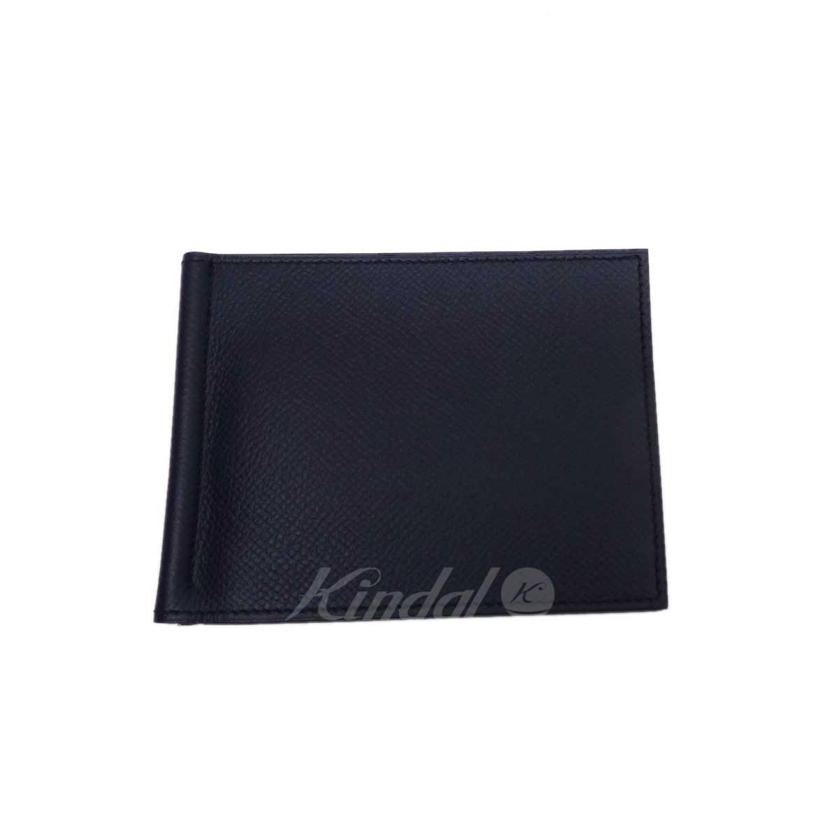 【中古】HERMES ポーカーGM X刻印(2016年製) 二つ折り財布 【送料無料】 【219285】 【KT1636】 【返品不可】