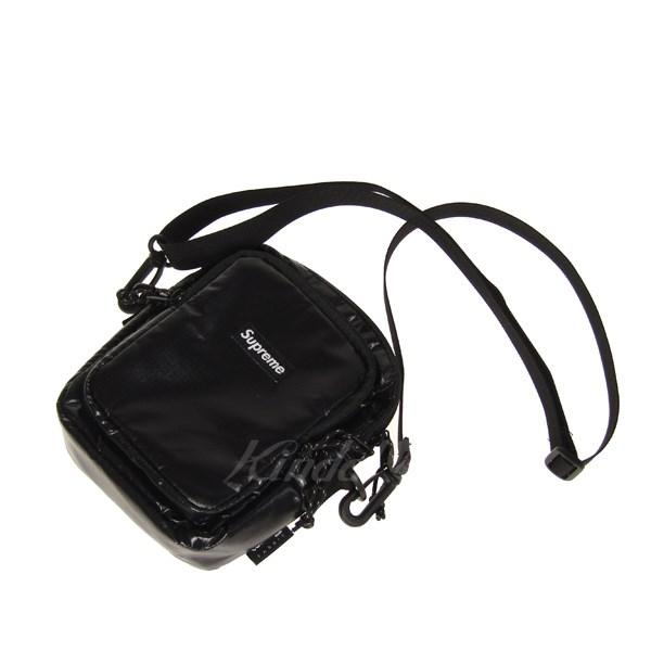 【中古】SUPREME 17AW Shoulder Bag ショルダーバッグ ブラック 【送料無料】 【140219】(シュプリーム)