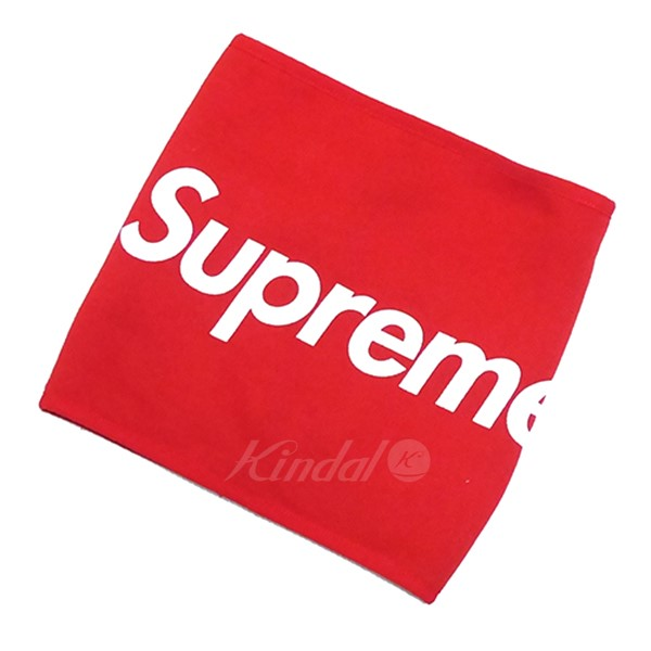 【中古】SUPREME 2015AW Fleece neck gaiter ネックウォーマー 【送料無料】 【016349】 【SN1647】
