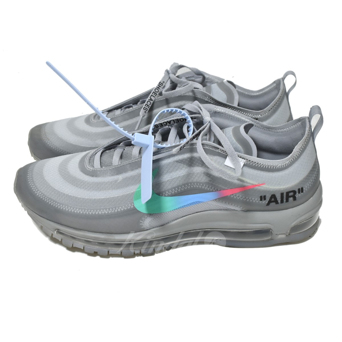 san francisco 3633b 654ca NIKE X OFF WHITE AIR MAX 97 Menta sneakers gray size: 29 0 (Nike off-white)