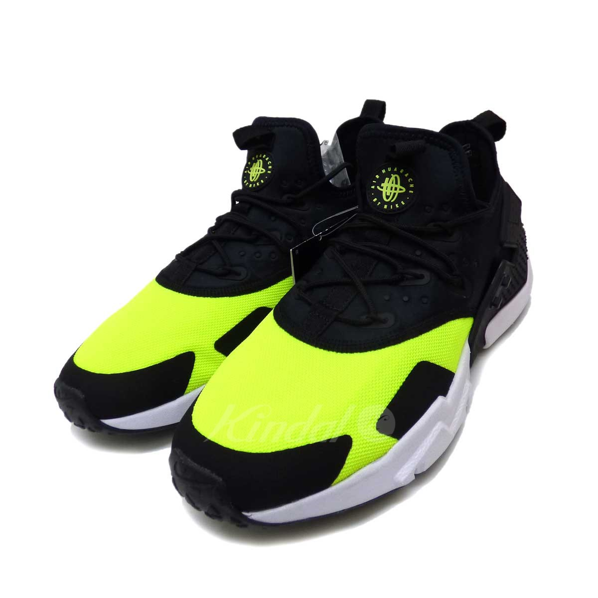 new products fa424 852a2 NIKE AIR HUARACHE DRIFT sneakers black X light green size: 29 (Nike)