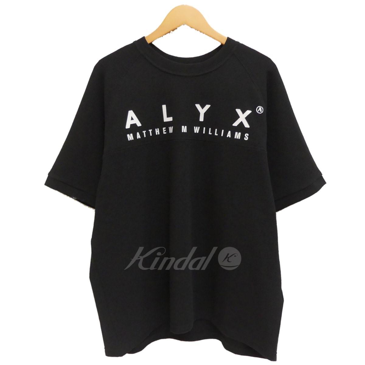 【中古】ALYX ワッフルカットソー 2018SS ブラック サイズ:L 【送料無料】 【240219】(アリクス)